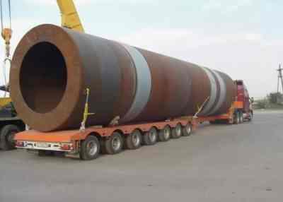 Перевозка труб больших диаметров тралами и площадками - Ставрополь, цены, предложения специалистов