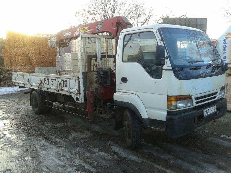Аренда манипулятора ISUZU - Ставрополь