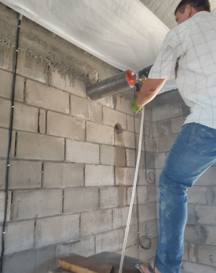 Алмазное сверление. Резка бетона и кирпича - Георгиевск, цены, предложения специалистов